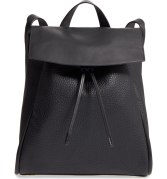 Skagen Ebba Leather Backpack, $295