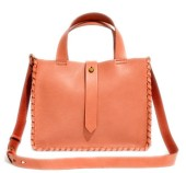 Madewell The Whipstitch Mini Tote Bag in Desert Sand, $138