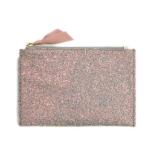 Jcrew Medium Glitter Pouch in Blossom Hologram Glitter, $45